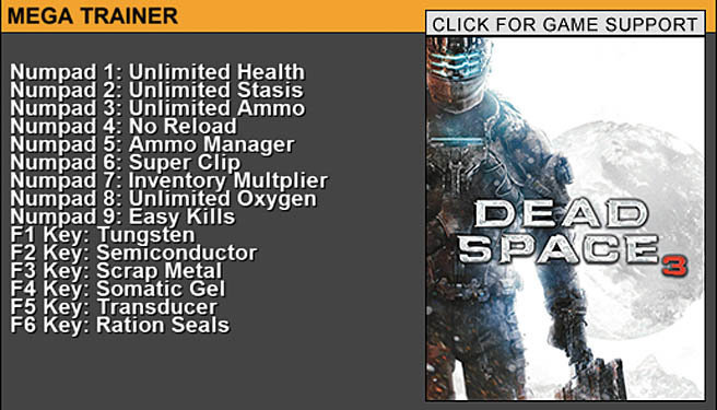 Godmode - Dead Space 3
