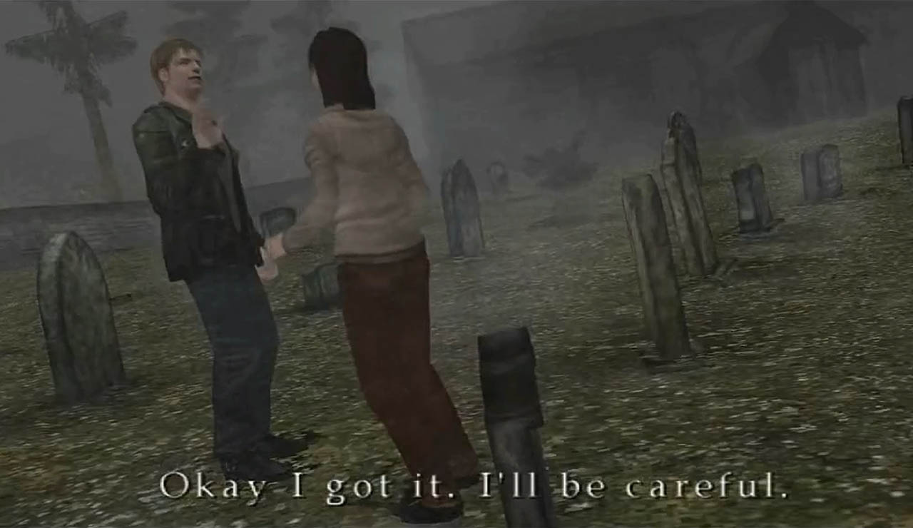silent hill 2 james intro