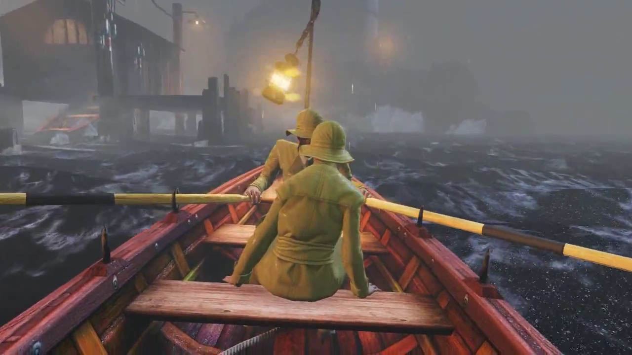 Bioshock Infinite - Rowing